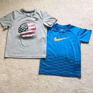 Other - BOYS SIZE 6 SHORT SLEEVE TEES - SET OF 2